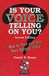 Book Cover - Is Your Voice Telling On You