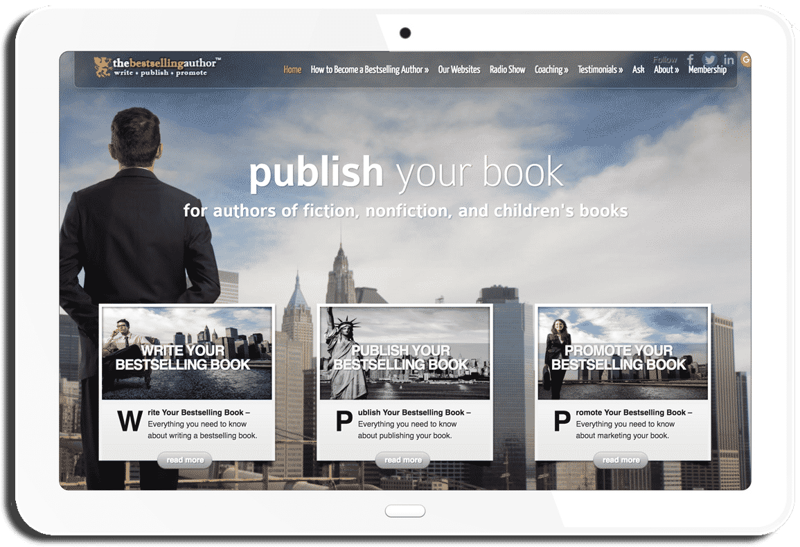 The Bestselling Author Website - Mark Malatesta