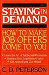 Cover image for Staying in Demand by C.D. Peterson