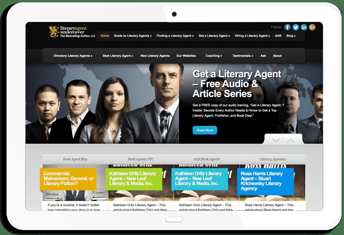 Literary Agent Undecover Website - Mark Malatesta
