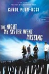 The Night My Sister Went Missing Book Cover and Review for Mark Malatesta